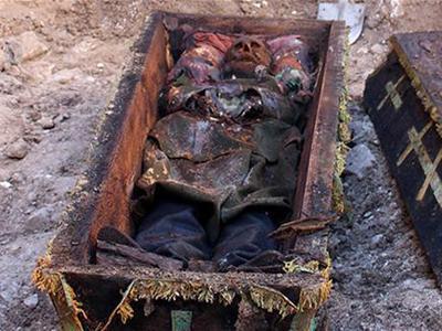 В Турции нашли гроб с телом русского генерала