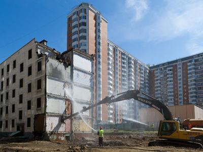 При сносе пятиэтажек можно будет использовать материнский капитал