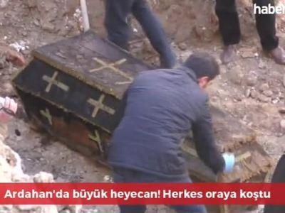 На стройке в Турции обнаружен гроб с останками русского офицера