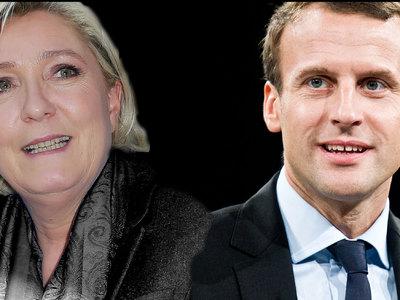 """Макрон vs Ле Пен: кандидаты в президенты Франции обменялись """"любезностями"""""""