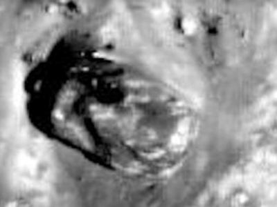 Уфологи обнаружили на Луне танк пришельцев. Видео
