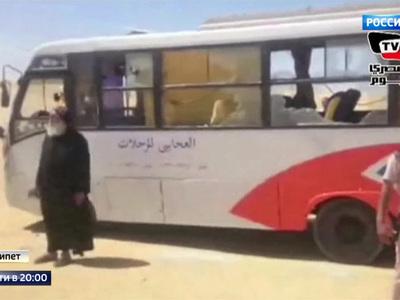 Убийство христиан в Египте: боевики ИГИЛ расстреляли автобус с детьми