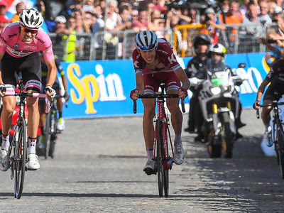 Джиро д'Италия. На многодневке сменился лидер общего зачета