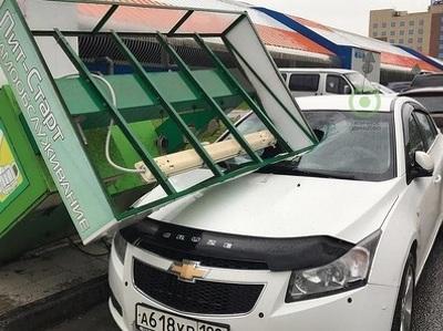 Общий ущерб автомобилистов от московского урагана - более 200 миллионов
