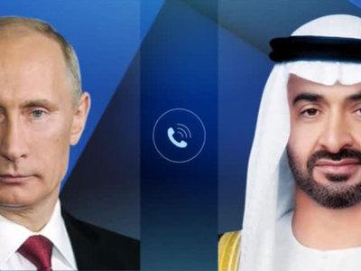 Путин и наследный принц Абу-Даби обсудили ситуацию вокруг Катара