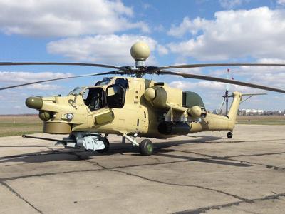 Российская армия получит новую модификацию ударного вертолета уже в ноябре