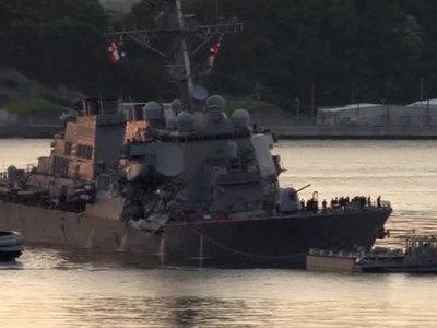 Найдены тела пропавших моряков с американского эсминца Fitzgerald
