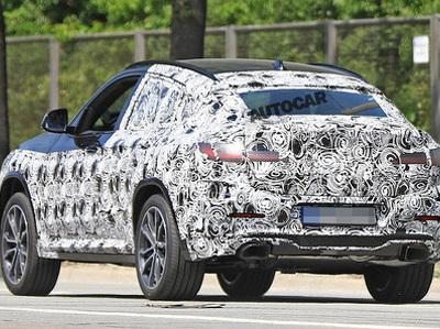 """Новый BMW X4 вышел на тесты в """"горячем"""" состоянии"""