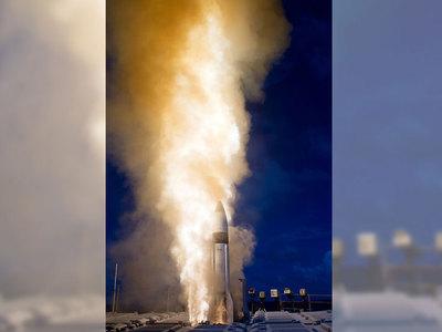 Американская ракета-перехватчик промазала