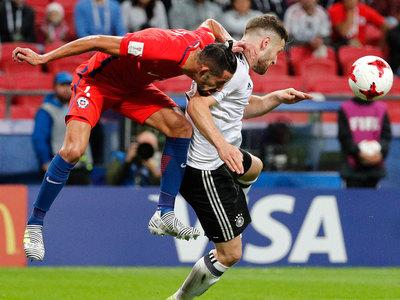 Кубок конфедераций. Сборные Германии и Чили сыграли вничью