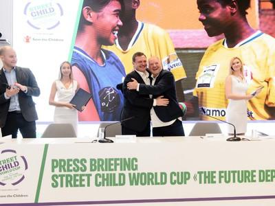 В России пройдет Чемпионат мира по футболу среди детей-сирот