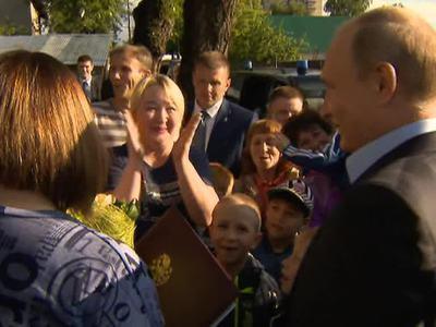 Жительница ижевского барака получила в подарок от Путина путевку в Сочи