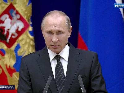 Путин: иностранные спецслужбы пытаются повлиять на внутриполитические процессы в России