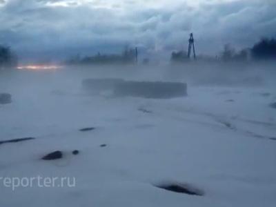 Западный Казахстан завалило снегом. Видео