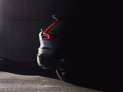 Показан кусочек серийного Volvo XC40