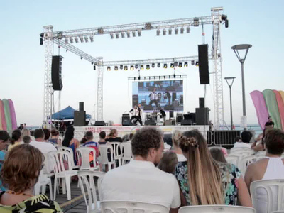 Молодежь России, Греции и Кипра провели праздник в поддержку фестиваля молодежи и студентов
