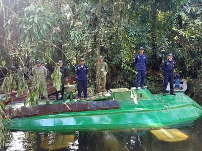 У колумбийской наркомафии отняли подводную лодку