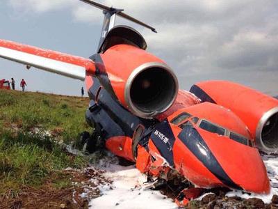 Украинский грузовой самолет разбили птицы