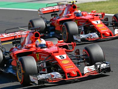 Формула-1. Двойная победа гонщиков Ferrari на Гран-при Венгрии