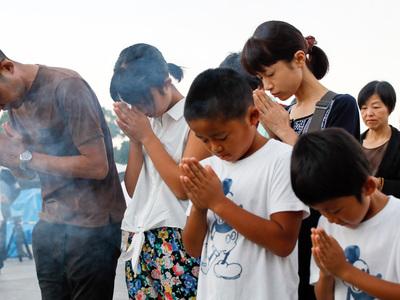В Хиросиме началась траурная церемония, посвященная жертвам атомной бомбардировки