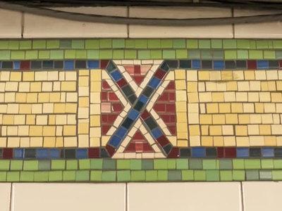 Плитку в нью-йоркском метро заменят из-за сходства с флагом конфедератов