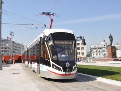 Низкопольный трамвай свяжет четыре московских вокзала