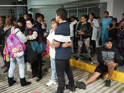 В сторону Мексики движется 3-метровое цунами