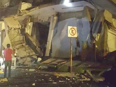 Землетрясение в Мексике вызвало перебои с электричеством
