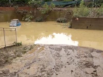 На итальянскую Тоскану обрушилось наводнение