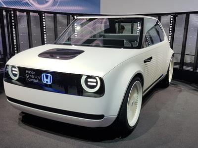 Honda выпустила для Европы забавный электрокар, который пойдет в серию