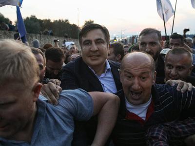 Арестован участник прорыва Саакашвили на Украину
