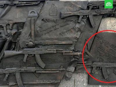 Скульптор Щербаков изменит памятник Калашникову с немецкой винтовкой