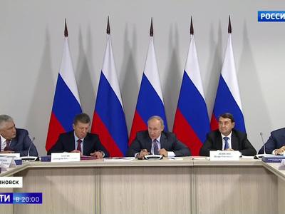 Президент провел транспортный Госсовет в Ульяновске