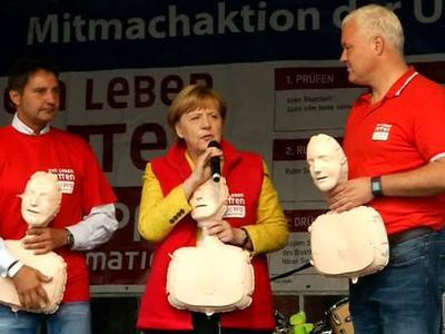 Предвыборная реанимация в исполнении Ангелы Меркель