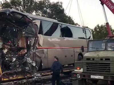 Страшное ДТП на Кубани: водитель автобуса мог заснуть за рулем