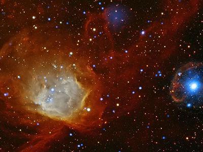 """Ярчайшая """"новая звезда"""" обнаружилась в соседней галактике"""