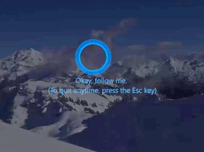 "Cortana ""проведет за руку"" по настройкам Windows"