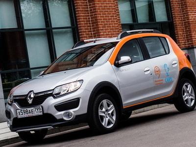 В каршеринге Москвы появилась новая модель автомобиля