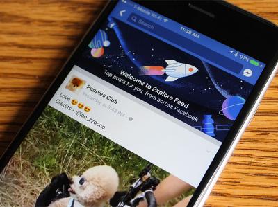 В Facebook появилась альтернативная лента новостей