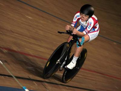 Гульназ Бадыкова вторая на чемпионате Европы по велотреку