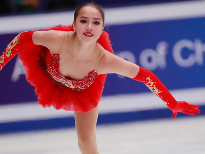 Алина Загитова: мечтаем о российском подиуме на Олимпиаде