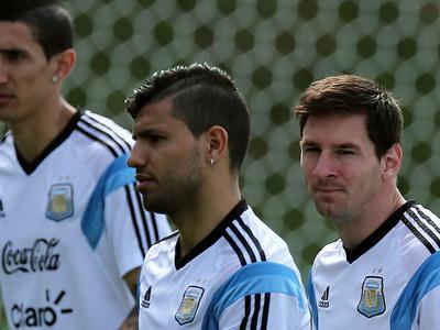 Месси, Ди Мария и Агуэро выйдут против сборной России