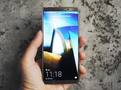 """Обзор смартфона Huawei Mate 10 Pro: """"разумная машина"""""""