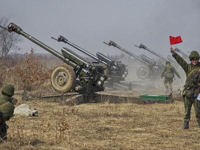 Российские военные передают метеорологам крупнокалиберные гаубицы