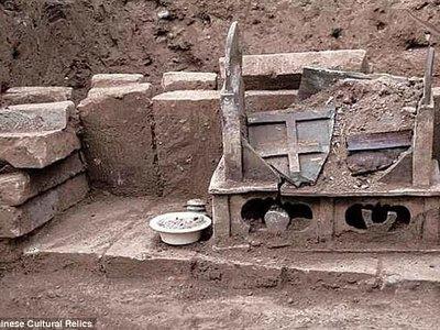 В Китае нашли очередное захоронение костей Будды