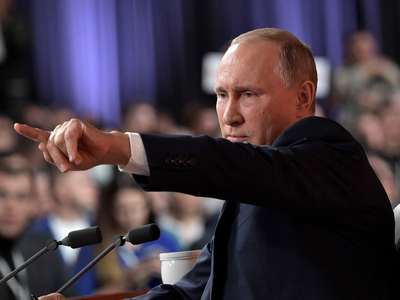 Путин разберется с GPS-маячком на рогах у коровы