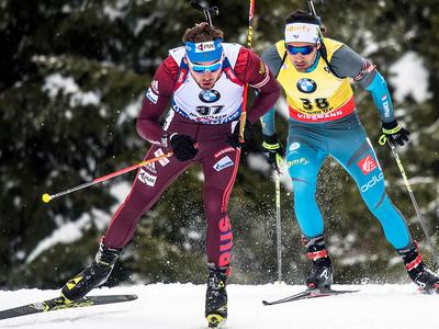Шипулин и Логинов разыграли бронзу биатлонного Кубка мира