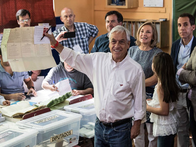 Президентом Чили стал экс-президент страны Пиньера