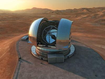 Строительство крупнейшего в мире телескопа началось в Чили