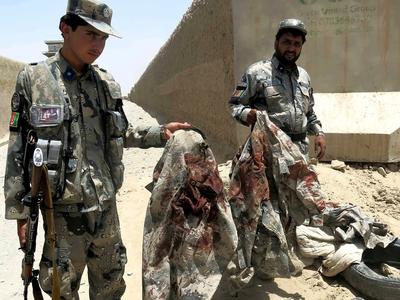 """""""Решительная поддержка"""": ВВС США случайно убили афганских военных"""